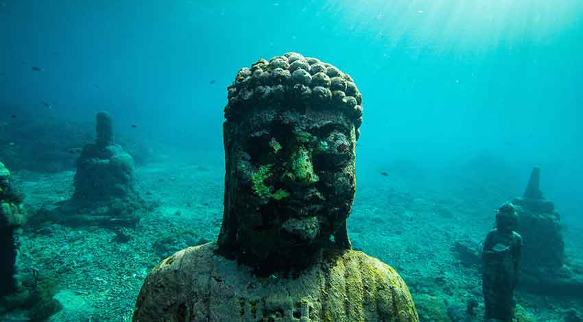 Scuba diving for beginners in Indonesia: Amed, Bali