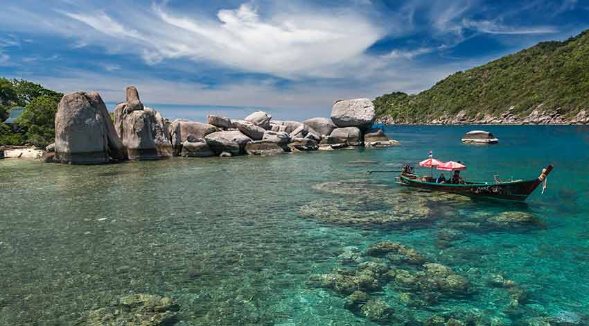 Scuba diving in Thailand for beginners : Koh Tao
